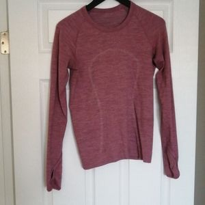 Lululemon GUC Swiftly Wool Pullover size 8